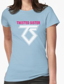 New TWISTED SISTER Old School Rock Band Womens Fitted T-Shirt