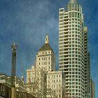 Downtown Milwaukee © by Dawn M. Becker