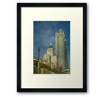 Downtown Milwaukee © Framed Print
