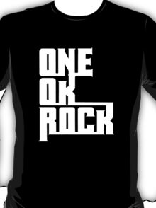 One OK Rock japanese rock band black T-Shirt