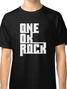 One OK Rock japanese rock band black Classic T-Shirt