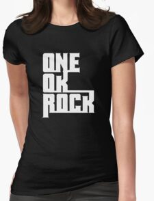 One OK Rock japanese rock band black Womens Fitted T-Shirt