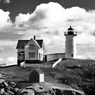 York, Maine - Nubble Lighthouse by Christy  Bruna