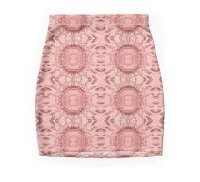 Crystal Cut Rose Stripe Mini Skirt