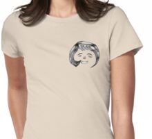 Curl Womens Fitted T-Shirt