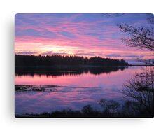 Sunrise over Oak Island, Nova Scotia Canvas Print