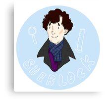 Sherlock Pin! Canvas Print