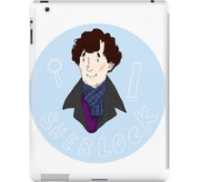 Sherlock Pin! iPad Case/Skin