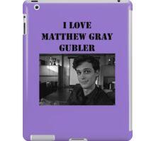 I <3 Matthew Gubler Tee iPad Case/Skin