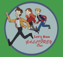 Let's Run to Gallifrey One Kids Clothes