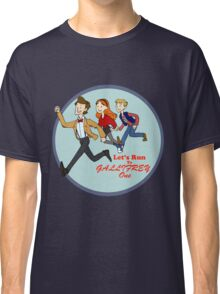 Let's Run to Gallifrey One Classic T-Shirt