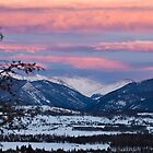 Colorado Sunset by Jeanne Frasse