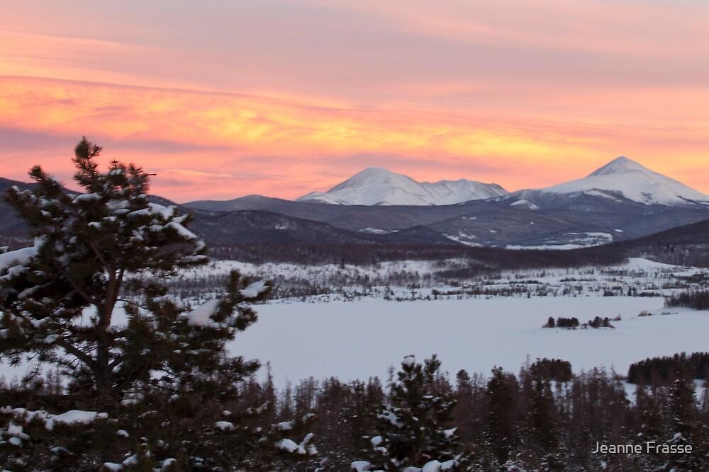 Sunset in Colorado by Jeanne Frasse