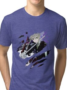 soul eater maka albarn anime manga shirt Tri-blend T-Shirt
