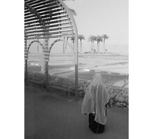 Woman and Dead Sea Photographic Print