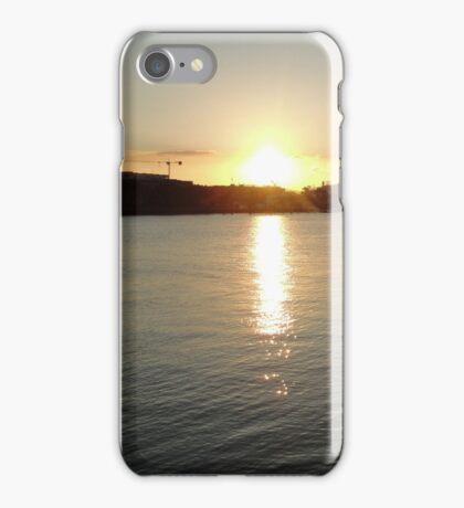Late afternoon sun iPhone Case/Skin