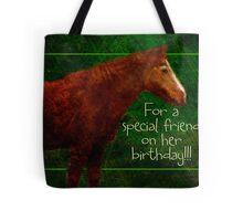special friend birthday for Cheryl Tote Bag