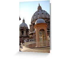 The Roof Greeting Card