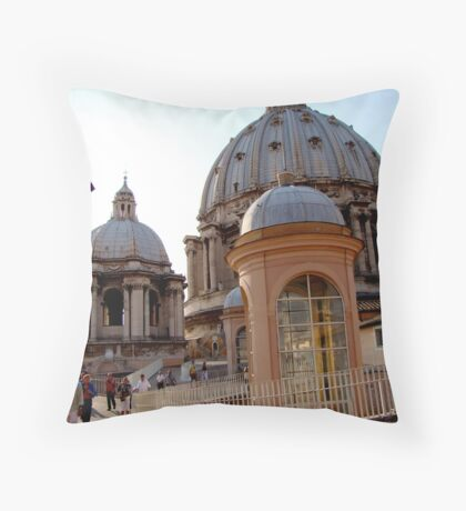 The Roof Throw Pillow