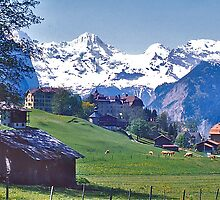 Wengen and the Bernese Oberland by David Davies