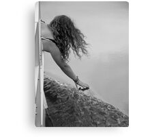 Touching Grace Canvas Print
