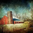 Red Barn by Barbara Zuzevich
