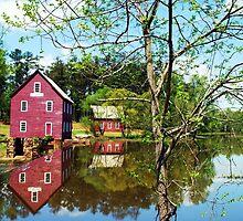 Starrs Mill  II by Mattie Bryant