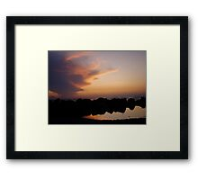 Ocean of Reflections Framed Print