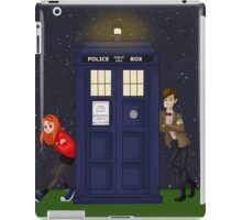 Amy Pond, the Doctor, and the TARDIS iPad Case/Skin