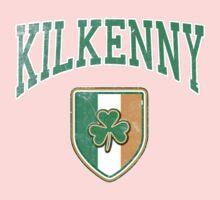 Kilkenny, Ireland with Shamrock One Piece - Long Sleeve