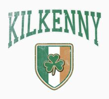 Kilkenny, Ireland with Shamrock Kids Tee