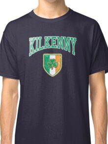 Kilkenny, Ireland with Shamrock Classic T-Shirt
