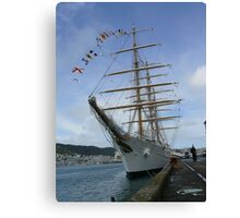 Libertad - Argentine Navy training ship (3) Canvas Print