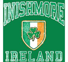Inishmore, Ireland with Shamrock Photographic Print