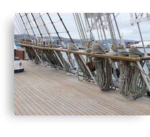 Libertad - Argentine Navy training ship (4) Canvas Print