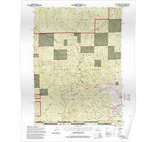 USGS Topo Map Oregon Dutchman Peak 279739 1996 24000 Poster