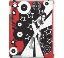 Retro Glam Discotheque Red iPad Case/Skin