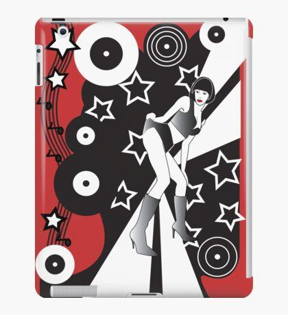 Retro Glam Discotheque Red iPad Case/Skin