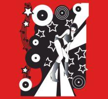 Retro Glam Discoteque by Jacqui Fae
