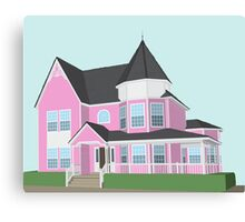 Gorgeous House Canvas Print