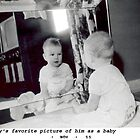 Terry's Favorite Picture of Him As a Baby by Terence Russell