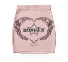 MonStar - Heart (NB) Mini Skirt