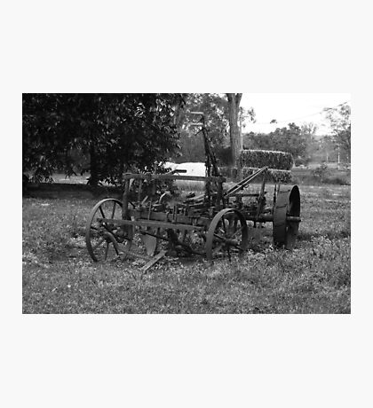 The Old Farmyard Photographic Print