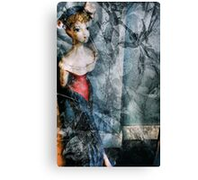 A French Woman Canvas Print