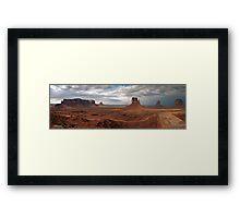 Monument Valley 2 Framed Print