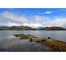 Glendhu Bay, Wanaka. South Island, New Zealand. Photographic Print