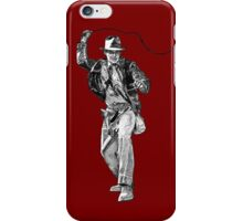 Indiana Jones Hand-drawing iPhone Case/Skin