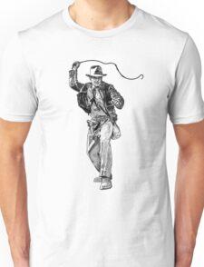 Indiana Jones Hand-drawing Unisex T-Shirt