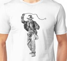 Indiana Jones Hand-drawing Unisex T-Shirt