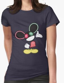 The Mouse is in da House V1 Womens Fitted T-Shirt